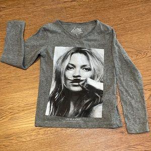 Little eleven Paris-life is a joke shirt girl sz8